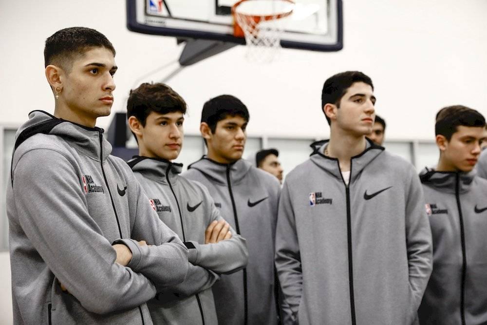 Cortesía NBA Academy