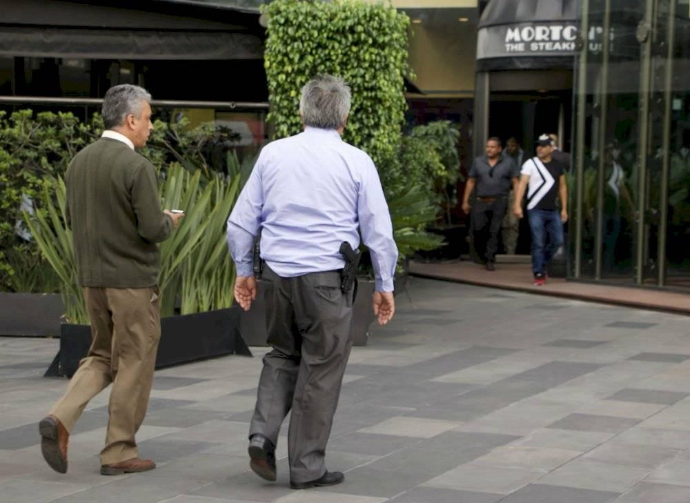 Restaurante donde Juan Collado fue detenido Foto: Cuartoscuro