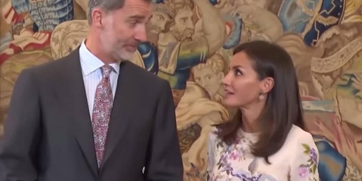 Problemas en el paraíso: así fue la discusión del rey Felipe con la reina Letizia en público