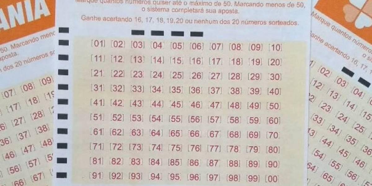 Lotomania 2110: veja números sorteados nesta sexta, 18 de setembro