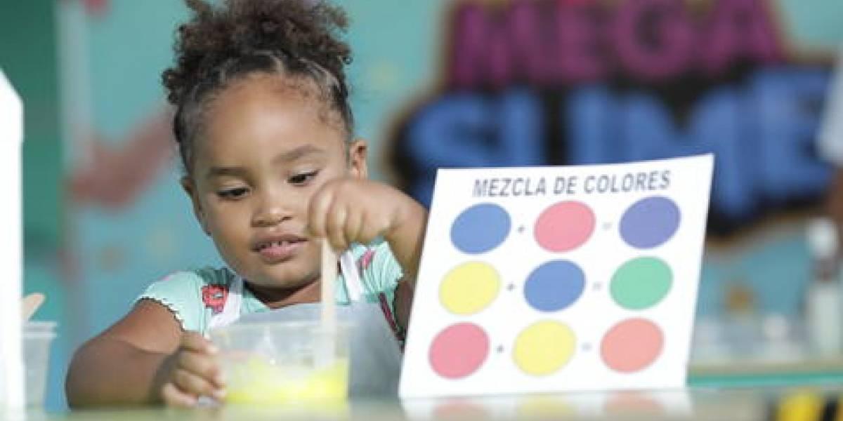 """Parque """"Mega Slime"""" ofrece diversión y educación a los infantes"""