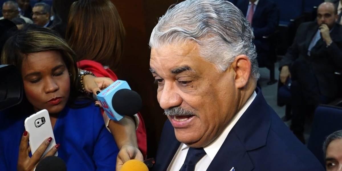 Miguel Vargas apoya la Reforma Constitucional
