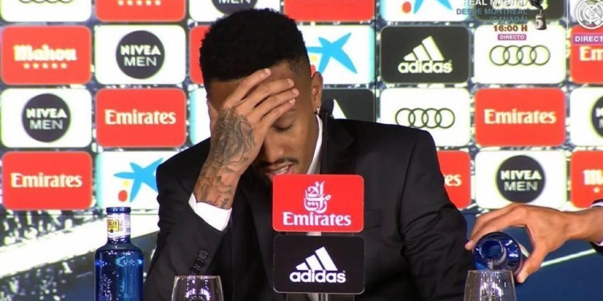 """Insólito: Nuevo refuerzo de Real Madrid se """"mareó"""" en la conferencia y tuvo que abandonarla"""