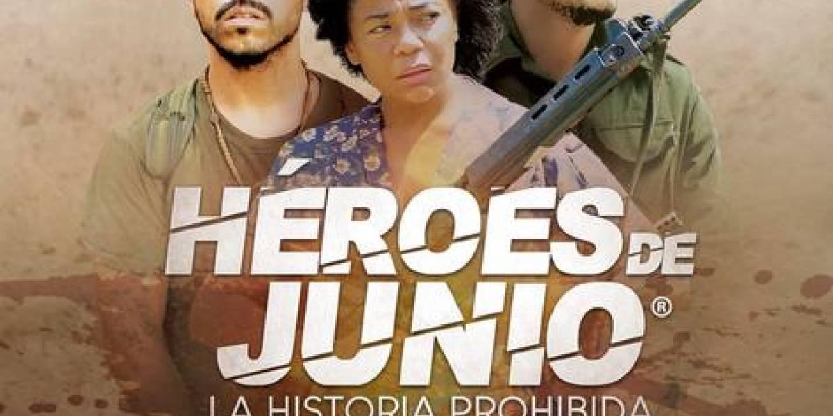 Película 'Héroes de Junio' será estrenada el próximo jueves 18