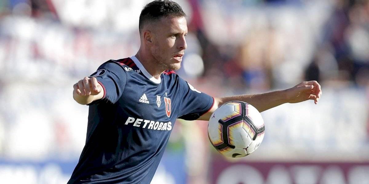 """En Peñarol descartan oferta para llevarse a Henríquez de la U: """"Por el momento no hay nada"""""""