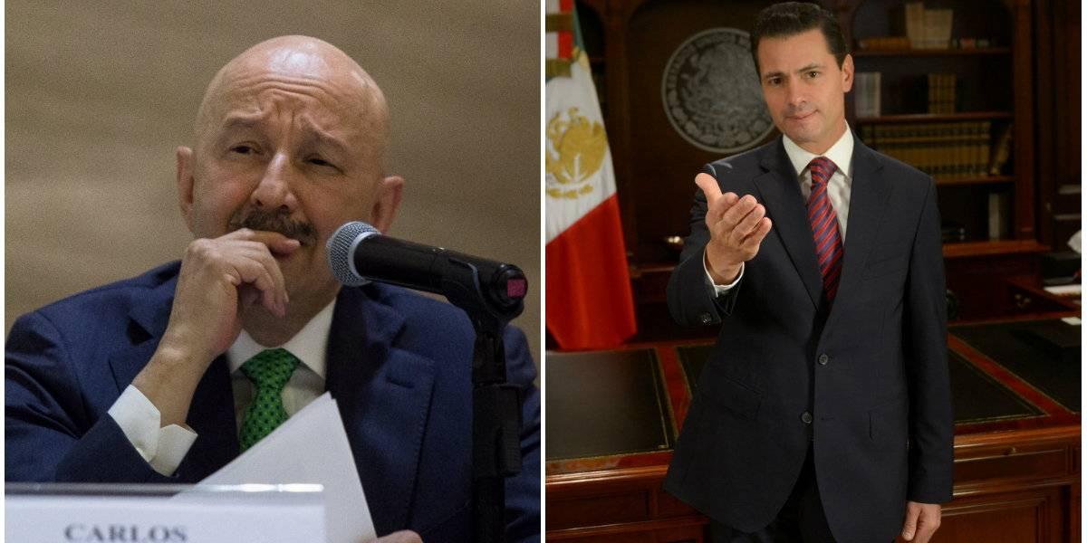 Salinas de Gortari y Peña Nieto salen implicados en caso Collado