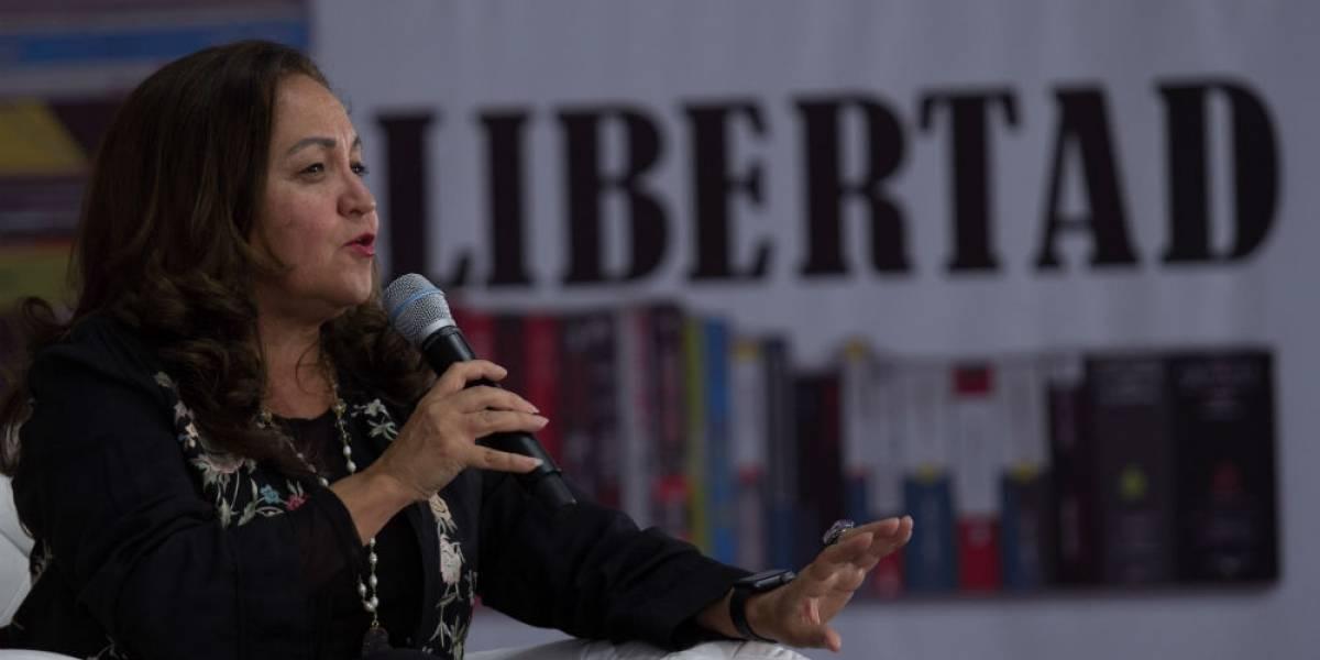 En medio de polémica en Notimex, Sanjuana Martínez cierra su twitter