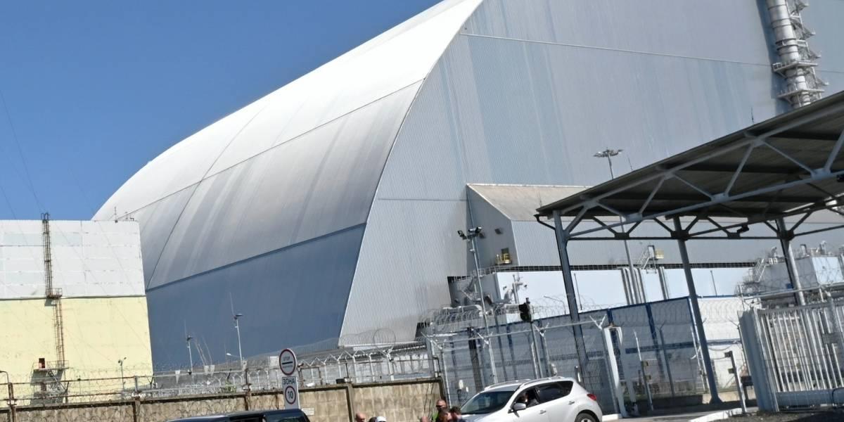 Inauguran recinto de contención en Chernóbil en Ucrania