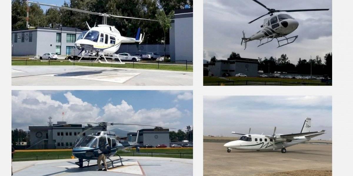 Michoacán venderá avión y helicópteros para pagar nómina