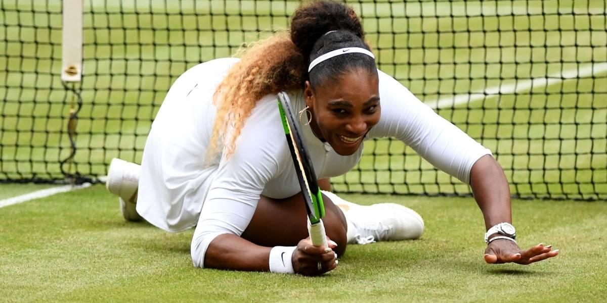 Serena Williams posa casi desnuda para una revista