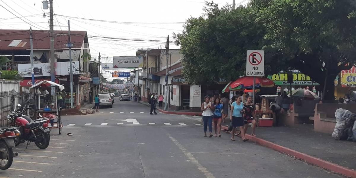 Por extorsiones continúa irregular el servicio de transporte en San Felipe, Retalhuleu