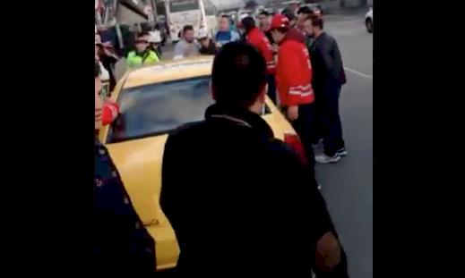 Amenazas, actos de vandalismo en el SITP y agresiones a conductores en el paro de taxistas en Bogotá