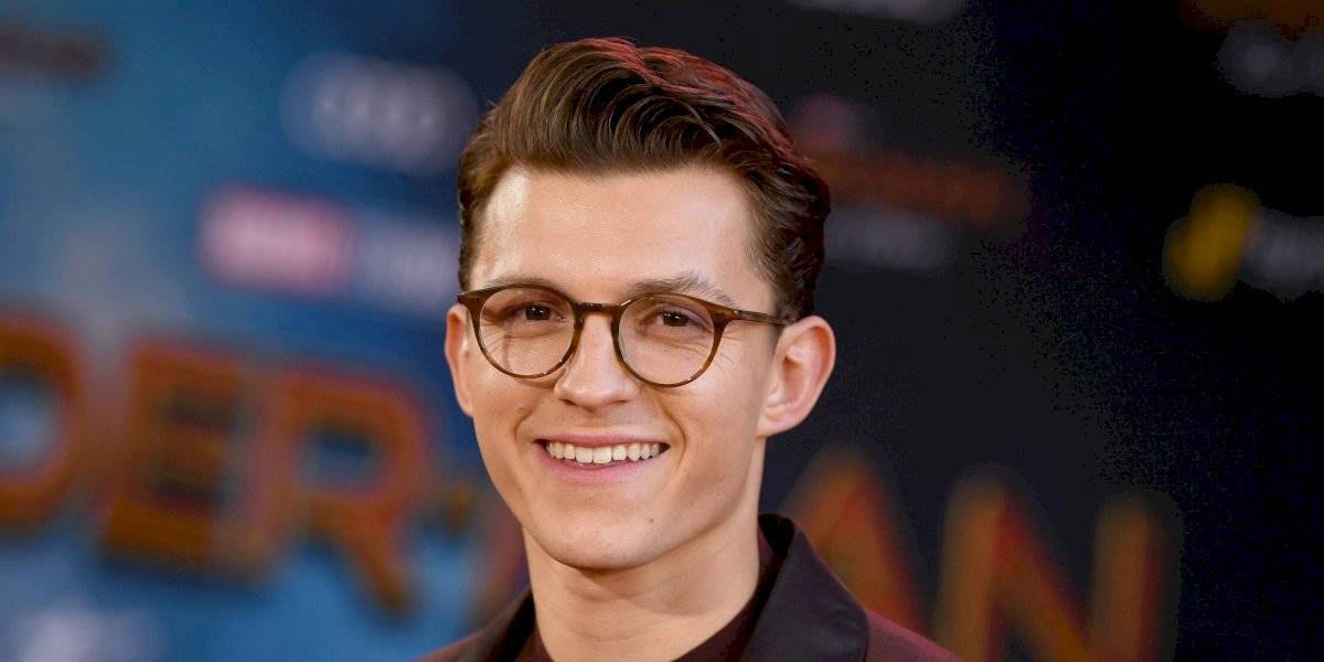 Exhiben fotos íntimas de Tom Holland, actor de Spiderman