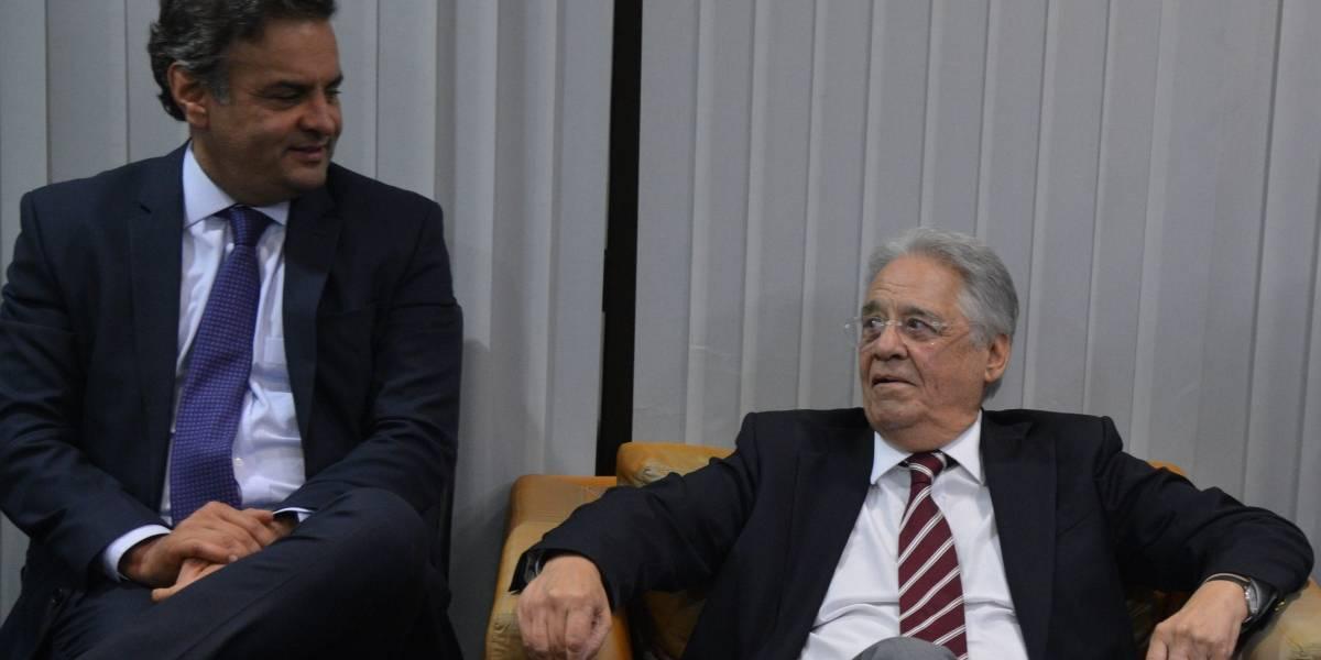 FHC entra no debate sobre expulsão de Aécio do PSDB