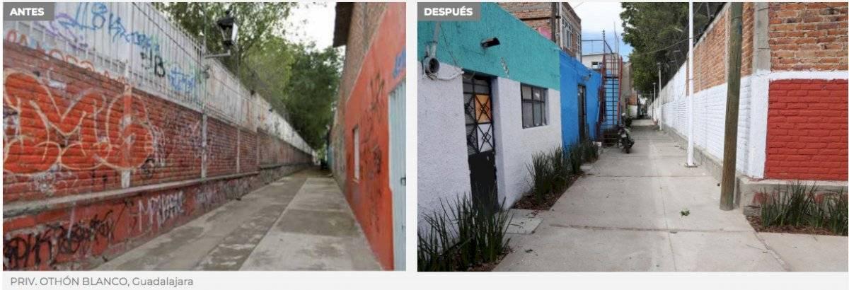 Espacios públicos serán rescatados en Guadalajara