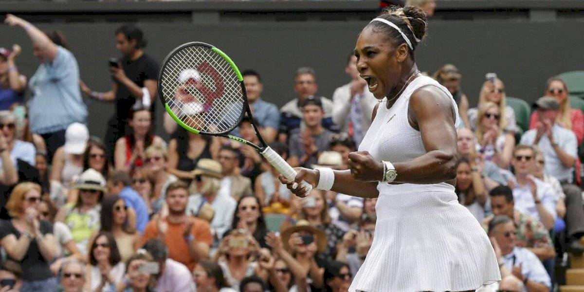 Serena Williams se mete en otra final de Wimbledon