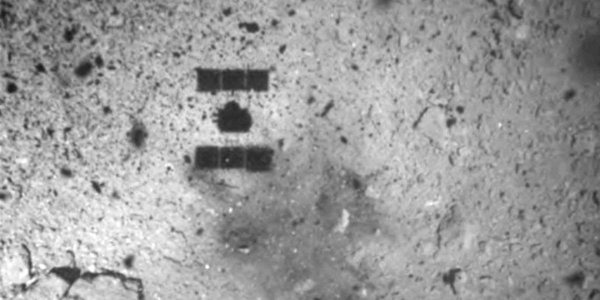 Sonda japonesa Hayabusa2 aterriza en asteroide para tomar muestras