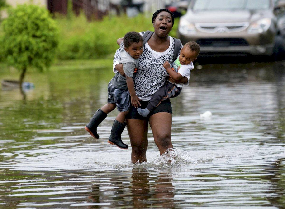Lluvias en Louisiana, Estados Unidos Foto: AP