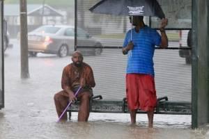 Lluvias en Louisiana, Estados Unidos
