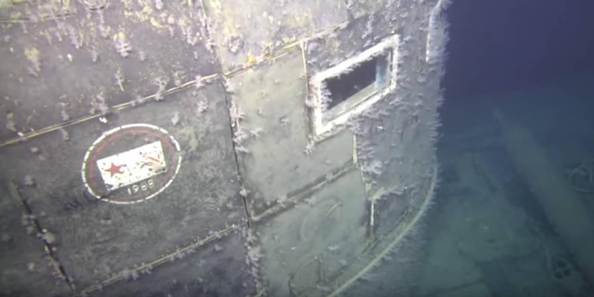Tiene una radiactividad 100 mil veces superior a la normal: submarino nuclear hundido hace 30 años desata la alerta en pleno mar