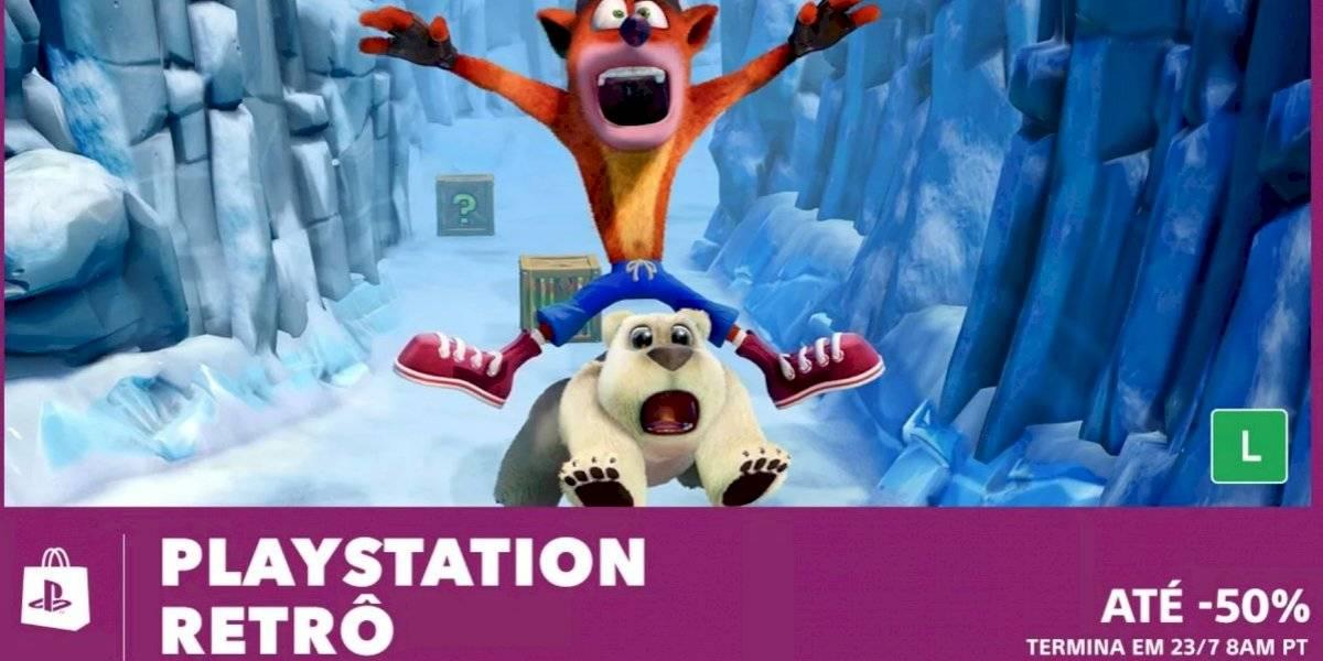 Promoção PlayStation Retrô já está disponível na PS Store