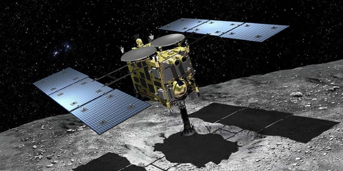 Sonda espacial japonesa recolhe amostras subterrâneas de asteroide