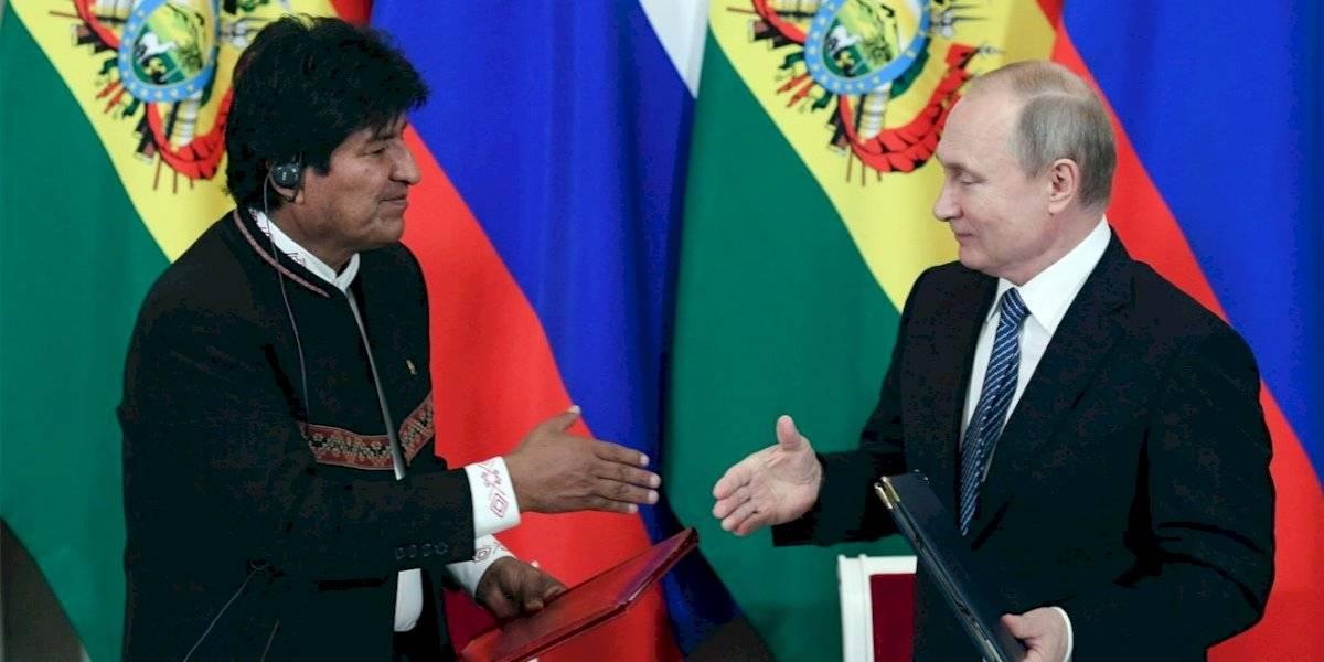 Reunión Putin-Morales: Rusia ayuda a Bolivia en la construcción de un reactor nuclear