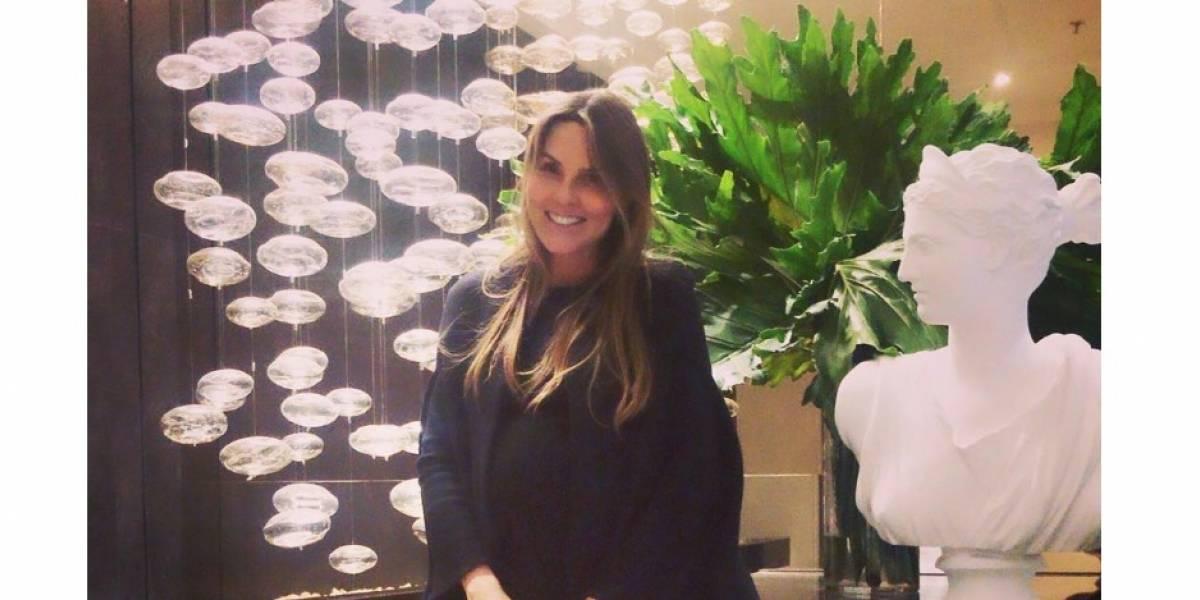 Paula Andrea Betancur reaparece en vestido de baño luego de dar a luz hace pocas semanas