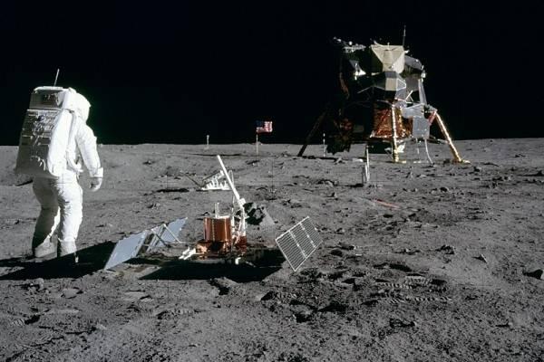 50 Aniversario Del Hombre En La Luna Antes Durante Y