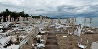 Tornado en Grecia