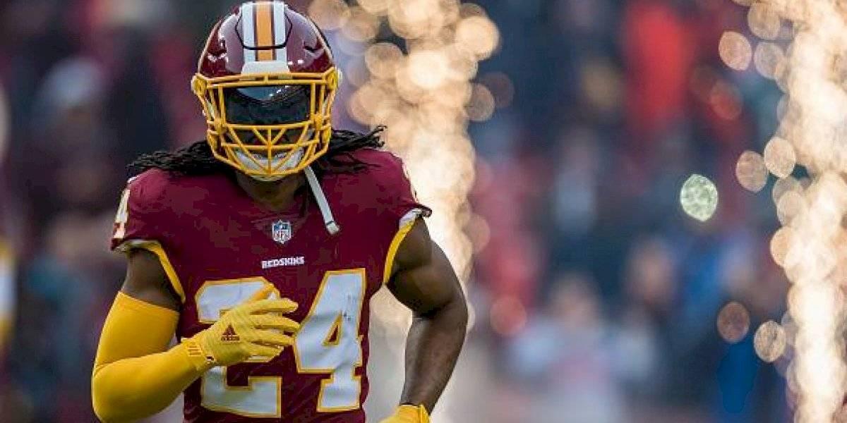 Josh Norman, de Washington Redskins, corre los Sanfermines