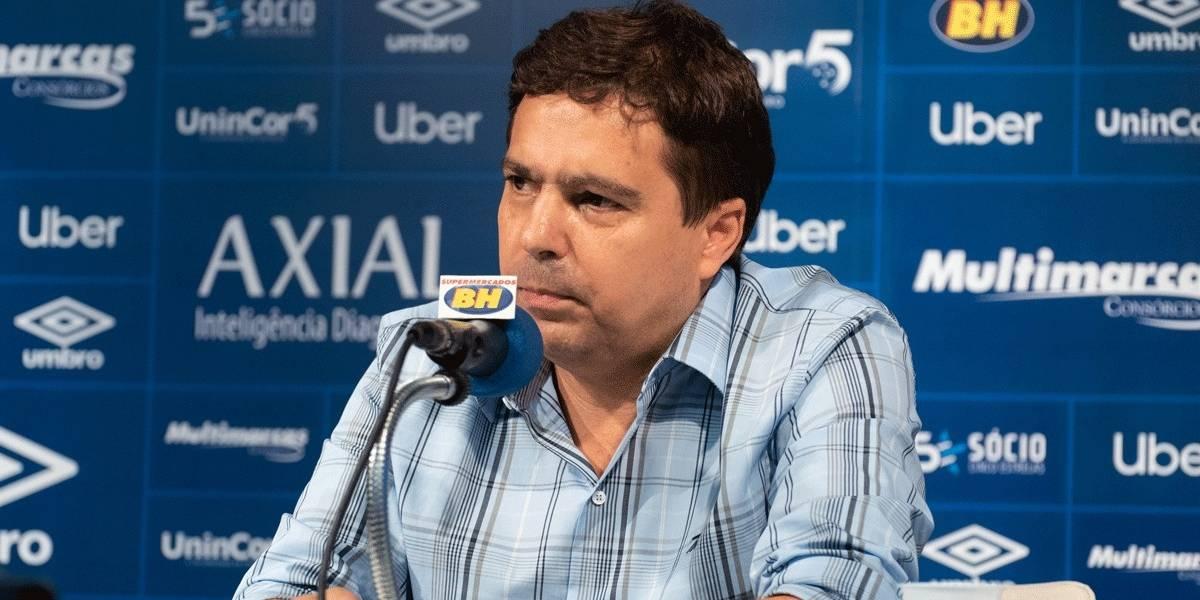 Justiça determina afastamento imediato de vice de futebol do Cruzeiro