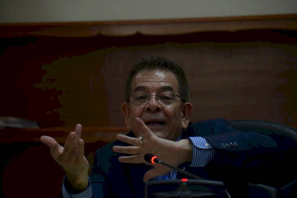 Juez Miguel Ángel Gálvez, controla el caso Cooptación del Estado. Foto: Omar Solís