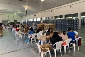 TSE prepara kits para segunda vuelta de elecciones