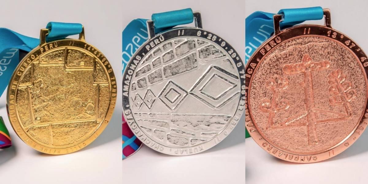 Presentan medallas para los Juegos Panamericanos 2019