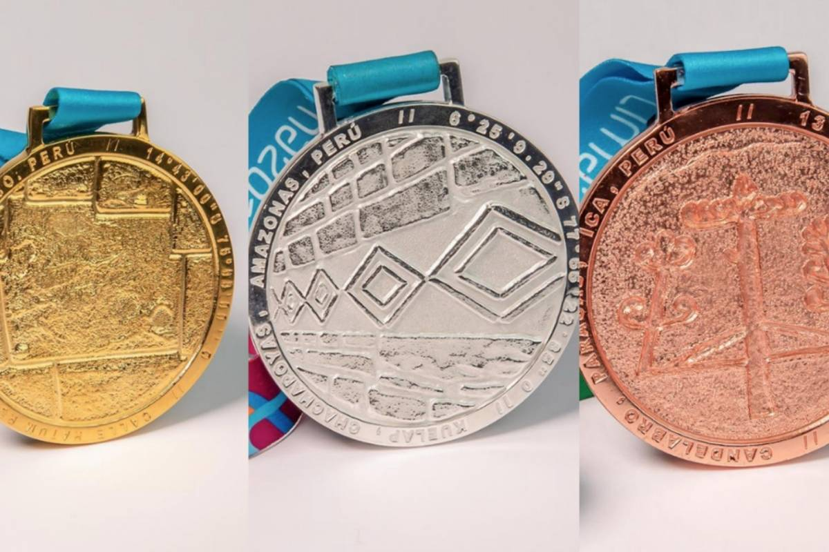 They present medals for the Pan American Games 2019