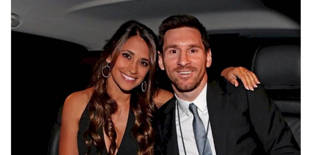 Messi presume a su bella esposa, Antonella Roccuzzo y a sus hijos, en la playa