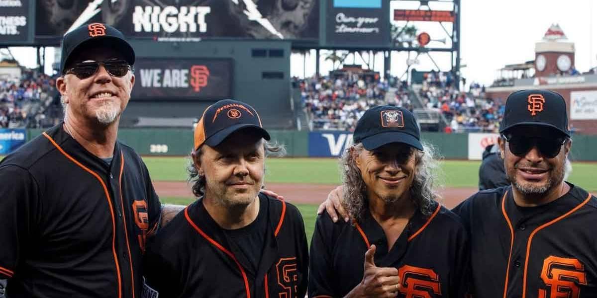 Show do Metallica será exibido no cinema