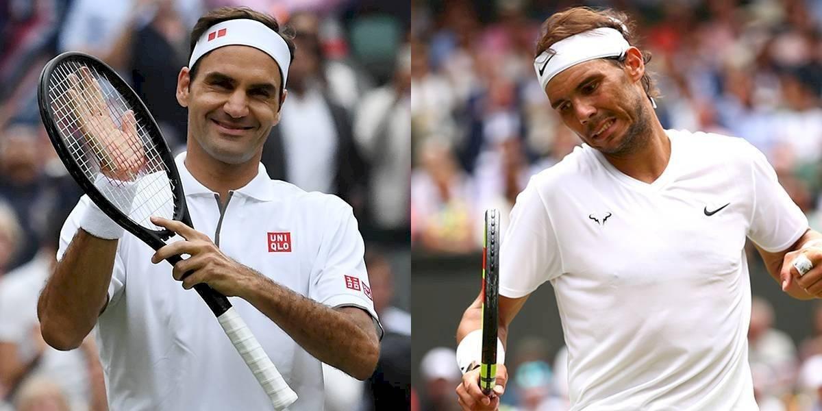 Wimbledon. Un viernes de clásico Nadal-Federer
