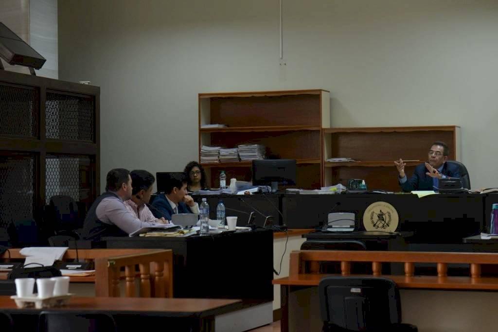 Audiencia del empresario Raúl Osoy en el caso Cooptación del Estado. Foto: Omar Solís