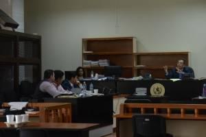 Audiencia del empresario Raúl Osoy en el caso Cooptación del Estado.