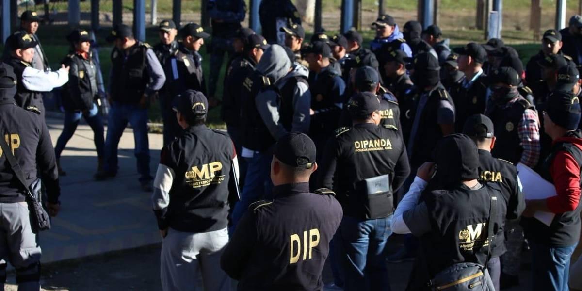 Allanan cárcel de Quetzaltenango en seguimiento a casos de extorsión