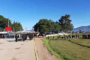 allanamiento en cárcel Cantel, en Quetzaltenango