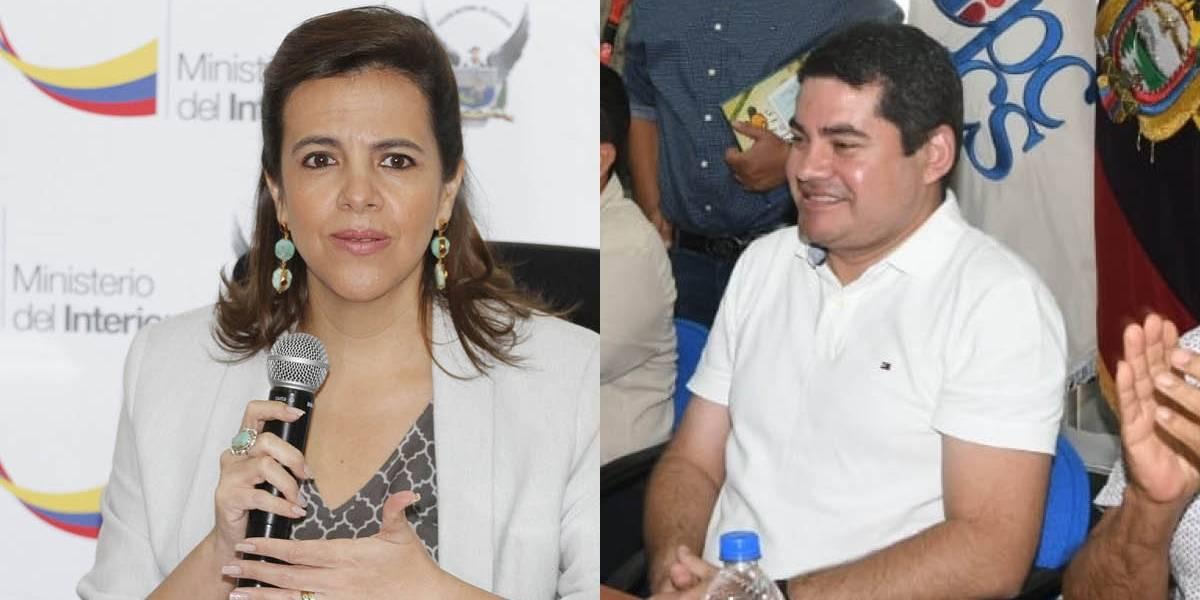 José Tuárez responsabiliza a María Paula Romo por su seguridad