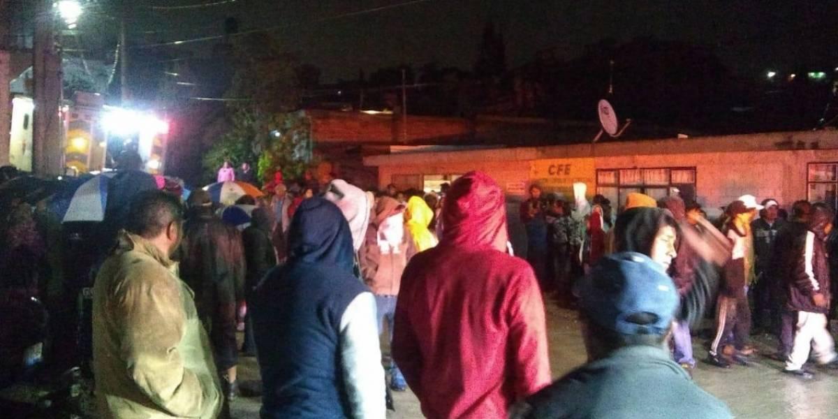 Desgajamiento de cerro en Puebla deja siete muertos