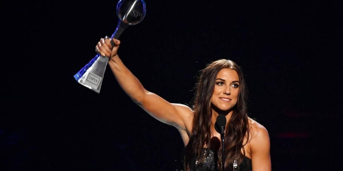 'Las mujeres somos más que solo atletas': Alex Morgan, en brillante discurso