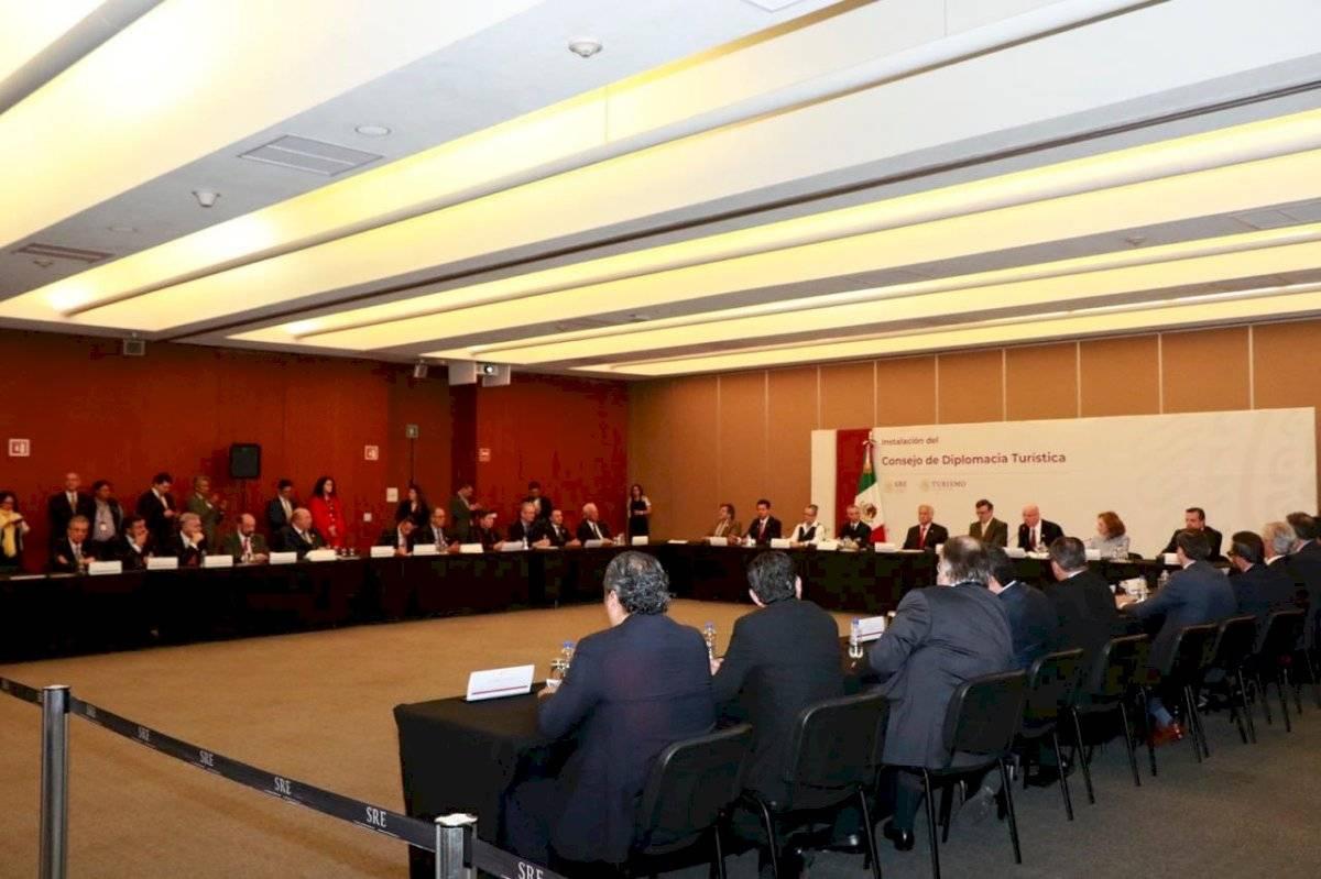 Consejo de Diplomacia Turística Foto: @SECTUR_mx