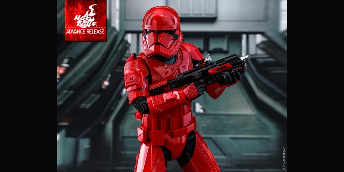 Imponente y colorado: así es el nuevo Sith Trooper del Star Wars: Episodio IX