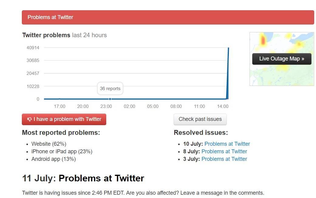 Cae Twitter; usuarios reportan fallas en América y Europa