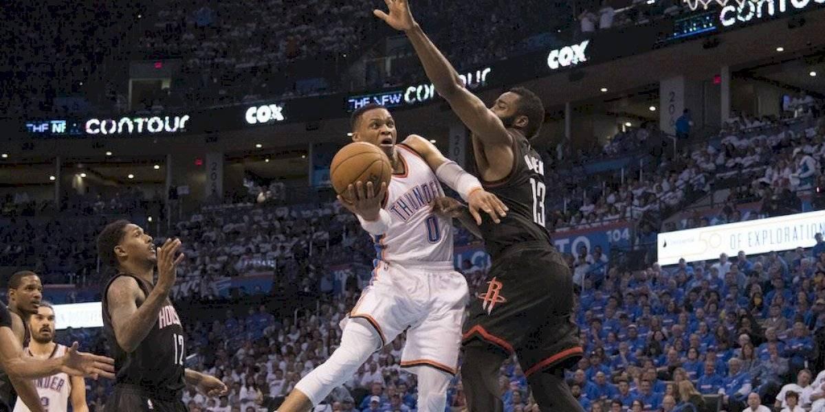 Rockets volverá a juntar a Rusell Westbrook y James Harden